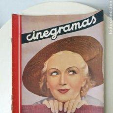 Cine: REVISTA CINEGRAMAS DICIEMBRE 1935. Lote 99542284