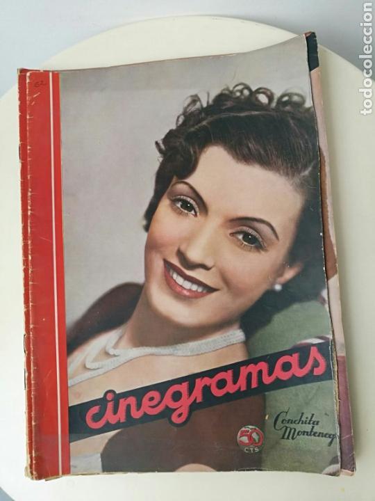 REVISTA CINEGRAMAS NOVIEMBRE 1935 (Cine - Revistas - Cinegramas)