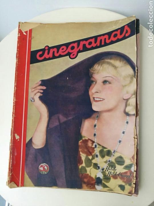 REVISTA CINEGRAMAS OCTUBRE 1935 (Cine - Revistas - Cinegramas)