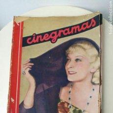 Cine: REVISTA CINEGRAMAS OCTUBRE 1935. Lote 99542819
