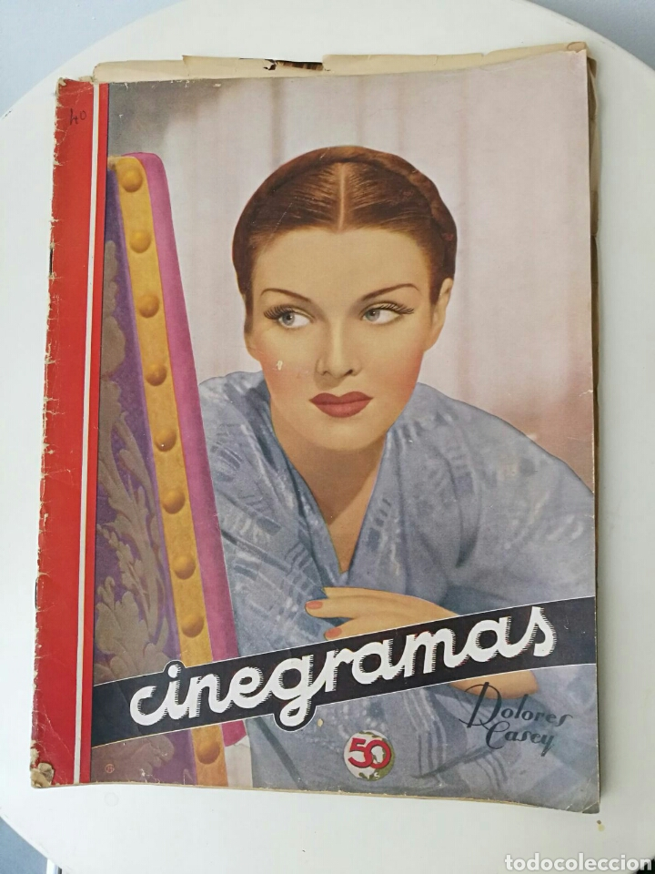 REVISTA CINEGRAMAS JUNIO 1935 (Cine - Revistas - Cinegramas)