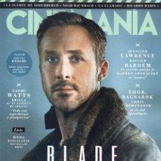 Cine: CINEMANIA N. 265 OCTUBRE 2017 - EN PORTADA: BLADE RUNNER 2049 (NUEVA). Lote 207464861