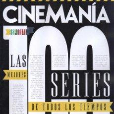 Cine: CINEMANIA N. 264 SEPTIEMBRE 2017 - EN PORTADA: ESPECIAL LAS 100 MEJORES SERIES (NUEVA). Lote 209967163