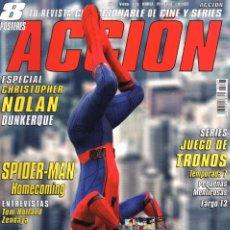 Cine: ACCION N. 1707 JULIO 2017 - EN PORTADA: SPIDER-MAN HOMECOMING (NUEVA). Lote 117561416