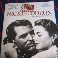 Cine: NICKEL ODEON. REVISTA TRIMESTRAL DE CINE. OTOÑO 2003. NUMERO TREINTA Y DOS. LLAMADAS DE CINE. 176 PA. Lote 99853287
