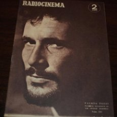 Cinema: RADIOCINEMA Nº 220 - 9/10/1954 - EN PORTADA/CONTRAPORTADA: FAUSTO TOZZI/BEVERLY TYLER. Lote 99854815