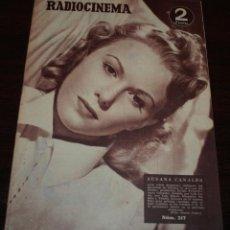 Cine: RADIOCINEMA Nº 217 - 18/09/1954 - EN PORTADA/CONTRAPORTADA: SUSANA CANALES/ROBERT TAYLOR. Lote 99855163