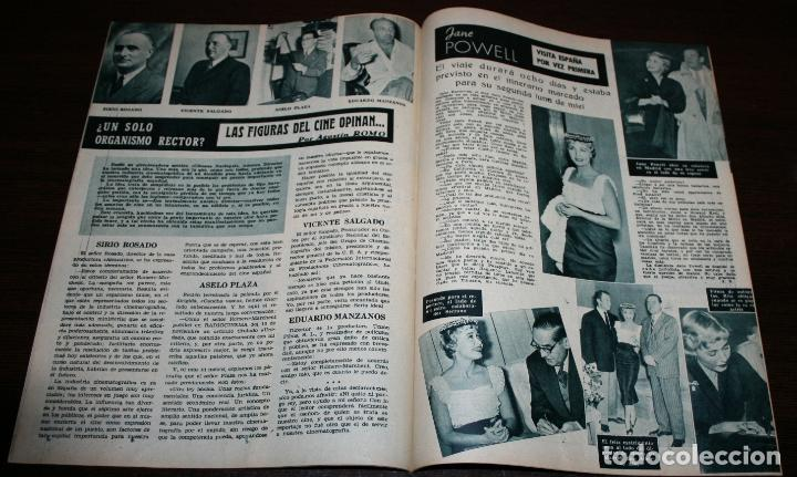 Cine: RADIOCINEMA Nº 228 - 4/12/1954 - EN PORTADA/CONTRAPORTADA: ROSALIND RUSSELL/CORNEL WILDE - Foto 2 - 154282564