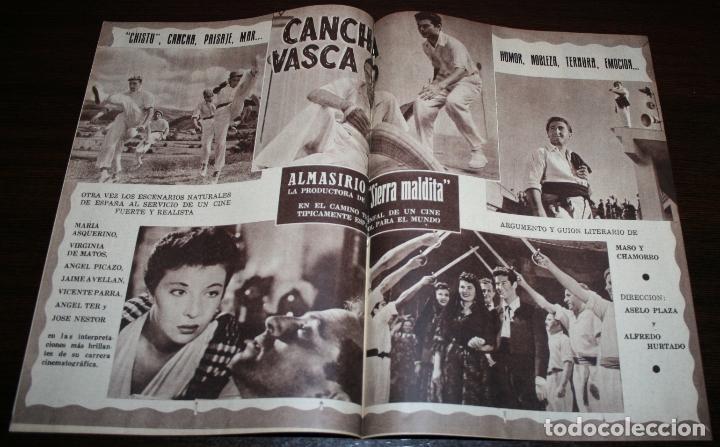 Cine: RADIOCINEMA Nº 225 - 13/11/1954 - EN PORTADA/CONTRAPORTADA: PAQUITA RICO, ANGELILLO/PAUL HENREID - Foto 2 - 99856107