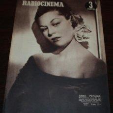 Cine: RADIOCINEMA Nº 224 - 6/11/1954 - EN PORTADA/CONTRAPORTADA: EMMA PENELLA/ELIZABETH TAYLOR,VAN JOHNSON. Lote 99856255