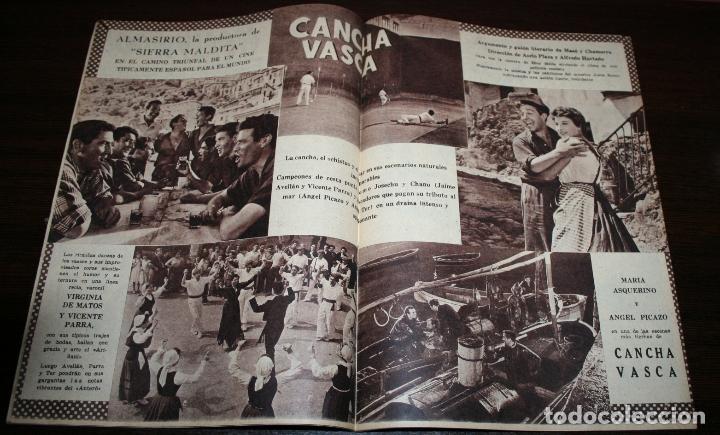 Cine: RADIOCINEMA Nº 222 - 23/10/1954 - EN PORTADA/CONTRAPORTADA: MAY WYNN/NANI FERNANDEZ - Foto 2 - 216552336