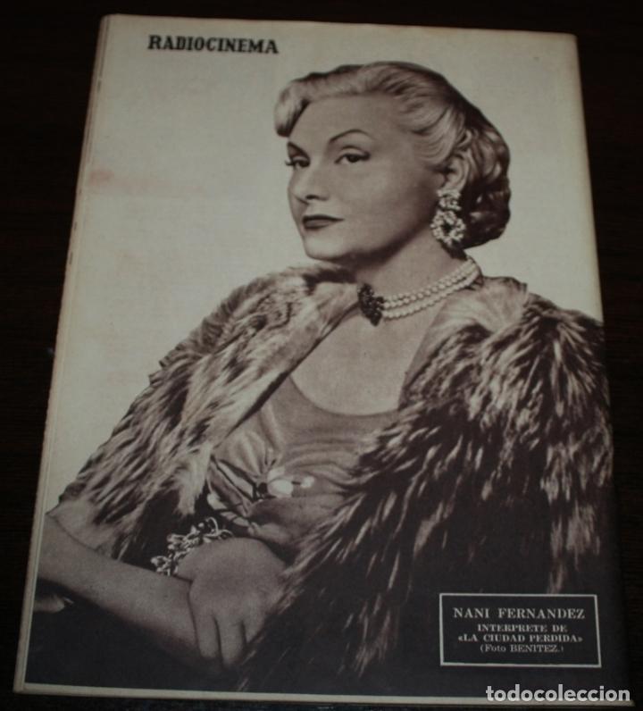 Cine: RADIOCINEMA Nº 222 - 23/10/1954 - EN PORTADA/CONTRAPORTADA: MAY WYNN/NANI FERNANDEZ - Foto 3 - 216552336