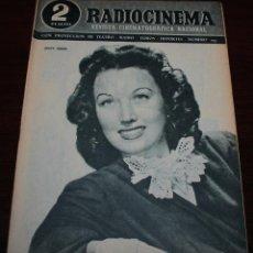 Cine: RADIOCINEMA Nº 193 - 3/04/1954 - EN PORTADA: JINNY SIMMS. Lote 99857163