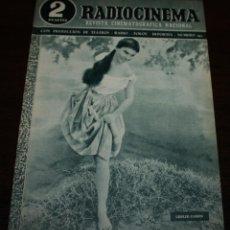 Cine: RADIOCINEMA Nº 192 - 27/03/1954 - EN PORTADA: LESLIE CARON. Lote 99857295