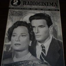 Cine: RADIOCINEMA Nº 189 - 6/03/1954 - EN PORTADA: MERLE OBERON, FRANCISCO RABAL. Lote 99857655