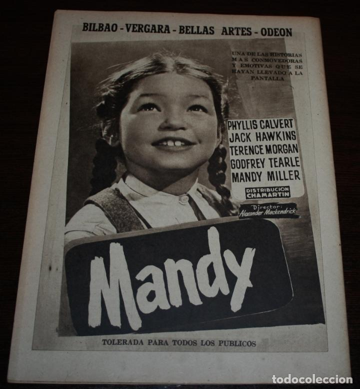 Cine: RADIOCINEMA Nº 197 - 1/05/1954 - EN PORTADA: MAUREEN OHARA - Foto 2 - 154282668