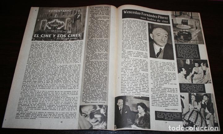 Cine: RADIOCINEMA Nº 197 - 1/05/1954 - EN PORTADA: MAUREEN OHARA - Foto 3 - 154282668