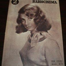 Cinema: RADIOCINEMA Nº 210 - 31/07/1954 - EN PORTADA/CONTRAPORTADA: PIER ANGELI/ GARY GRANT. Lote 99862219