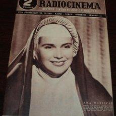 Cine: RADIOCINEMA Nº 207 - 10/07/1954 - EN PORTADA/CONTRAPORTADA: ANA MARISCAL/EDWARD G. ROBINSON. Lote 99862563