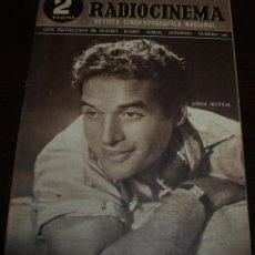 Cine: RADIOCINEMA Nº 206 - 3/07/1954 - EN PORTADA/CONTRAPORTADA: JORGE MISTRAL/AUDREY TOTTER. Lote 99862671