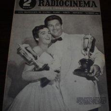 Cine: RADIOCINEMA Nº 204 - 19/06/1954 - EN PORTADA: AURORA BAUTISTA, JOSÉ SUAREZ. Lote 99862951