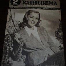 Cine: RADIOCINEMA Nº 201 - 29/05/1954 - EN PORTADA: ELEANOR PARKER. Lote 99863311