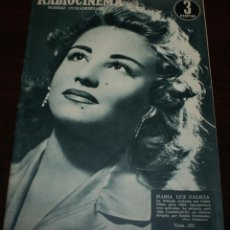 Cine: RADIOCINEMA Nº 232 - 1/01/1955 - EN PORTADA/CONTRAPORTADA: MARIA LUZ GALICIA/PHILIP DORN. Lote 99882671