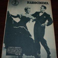 Cine: RADIOCINEMA Nº 289 - 4/02/1956 - EN PORTADA/CONTRAPORTADA: CABOT & DRESDEN/JANIS PAIGE. Lote 99883211