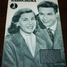 Cine: RADIOCINEMA Nº 296 - 24/03/1956 - EN PORTADA/CONTRAPORTADA: FRANCISCO RABAL/GARY COOPER. Lote 99897143