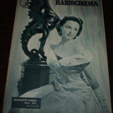 Cine: RADIOCINEMA Nº 294 - 10/03/1956 - EN PORTADA/CONTRAPORTADA: JEANNETTE STERKE/WILLIAM TRAVERS. Lote 99897443