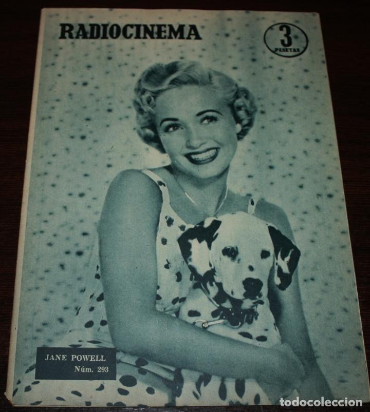 RADIOCINEMA Nº 293 - 3/03/1956 - EN PORTADA/CONTRAPORTADA: JANE POWELL/LILE BETTGER (Cine - Revistas - Radiocinema)