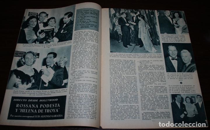 Cine: RADIOCINEMA Nº 293 - 3/03/1956 - EN PORTADA/CONTRAPORTADA: JANE POWELL/LILE BETTGER - Foto 2 - 99897555
