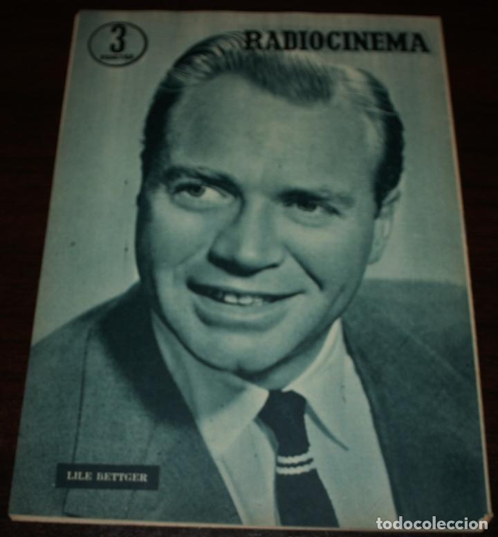 Cine: RADIOCINEMA Nº 293 - 3/03/1956 - EN PORTADA/CONTRAPORTADA: JANE POWELL/LILE BETTGER - Foto 3 - 99897555