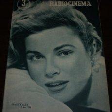 Cinema: RADIOCINEMA Nº 288 - 28/01/1956 - EN PORTADA/CONTRAPORTADA: GRACE KELLY/GERARD PHILIPE. Lote 99898167