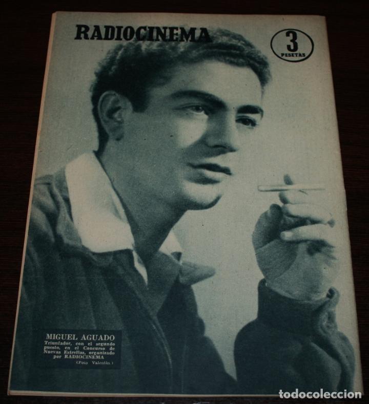 Cine: RADIOCINEMA Nº 287 - 21/01/1956 - EN PORTADA/CONTRAPORTADA: ROSALIND OHARA/MIGUEL AGUADO - Foto 2 - 99898339