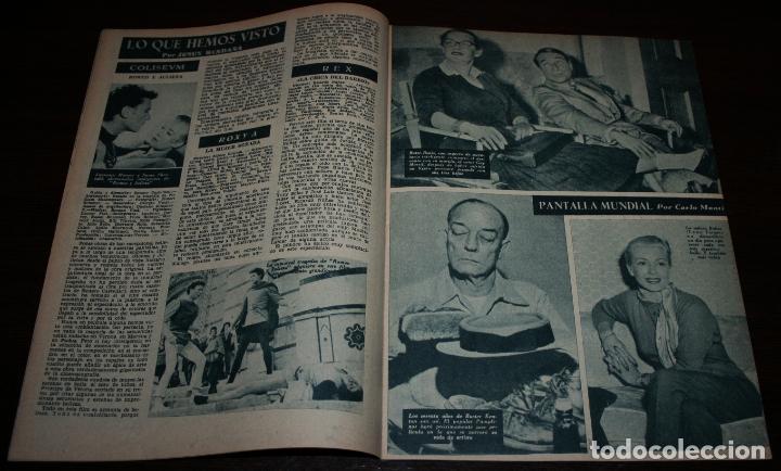 Cine: RADIOCINEMA Nº 287 - 21/01/1956 - EN PORTADA/CONTRAPORTADA: ROSALIND OHARA/MIGUEL AGUADO - Foto 3 - 99898339