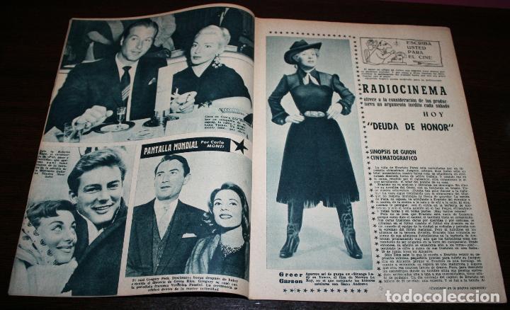 Cine: RADIOCINEMA Nº 286 - 14/01/1956 - EN PORTADA/CONTRAPORTADA: SHIRLEY YAMAGUCHI/HENRY FONDA - Foto 2 - 99898491