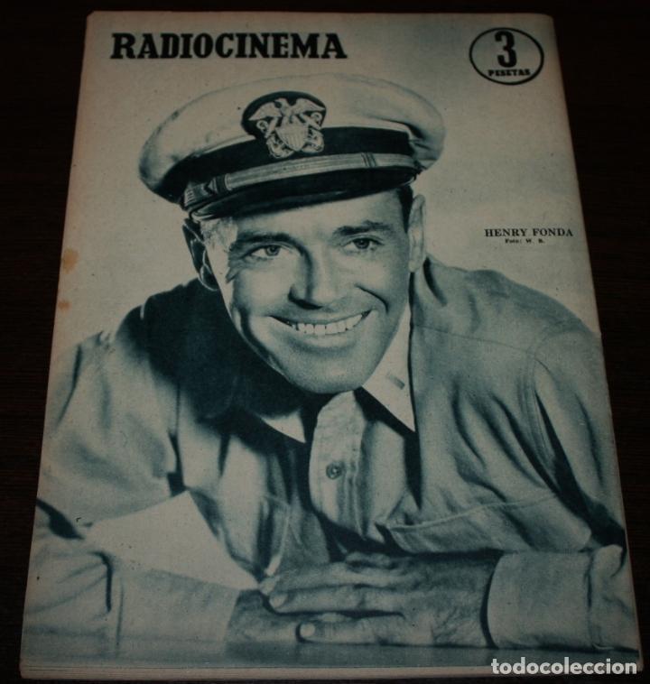 Cine: RADIOCINEMA Nº 286 - 14/01/1956 - EN PORTADA/CONTRAPORTADA: SHIRLEY YAMAGUCHI/HENRY FONDA - Foto 3 - 99898491