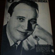 Cine: RADIOCINEMA Nº 237 - 5/02/1955 - EN PORTADA/CONTRAPORTADA: JUANJO MENÉNDEZ/VERA ELLEN. Lote 99898695