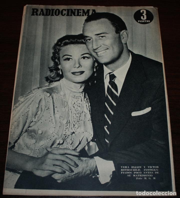 Cine: RADIOCINEMA Nº 237 - 5/02/1955 - EN PORTADA/CONTRAPORTADA: JUANJO MENÉNDEZ/VERA ELLEN - Foto 2 - 99898695