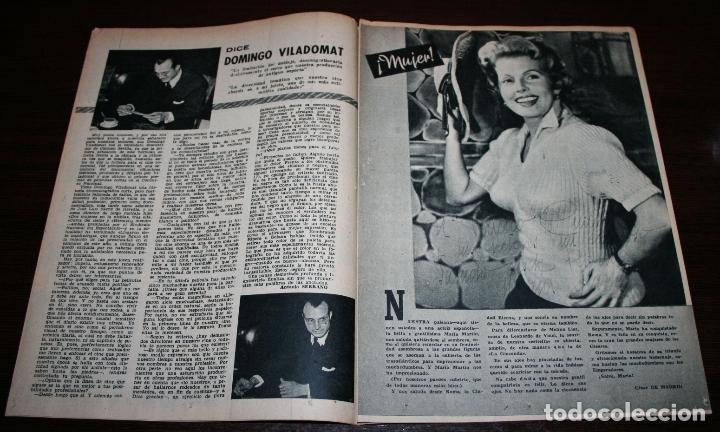 Cine: RADIOCINEMA Nº 237 - 5/02/1955 - EN PORTADA/CONTRAPORTADA: JUANJO MENÉNDEZ/VERA ELLEN - Foto 3 - 99898695