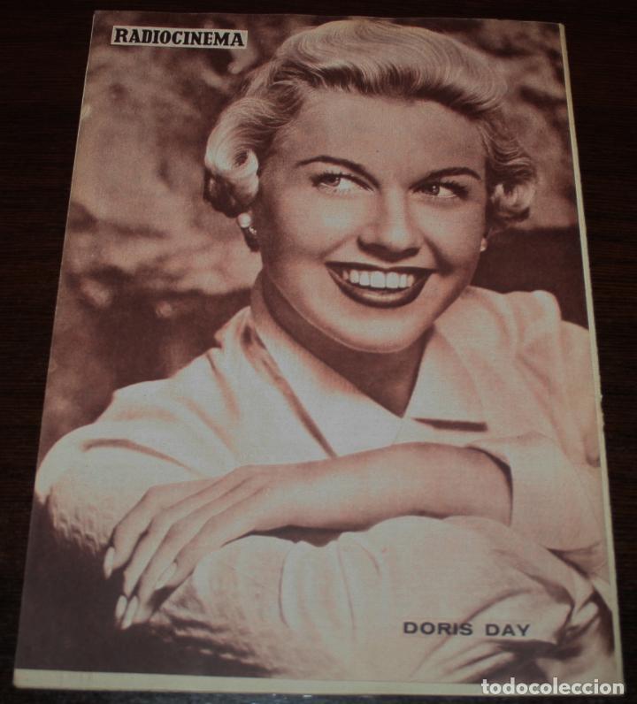 Cine: RADIOCINEMA Nº 214 - 28/08/1954 - EN PORTADA/CONTRAPORTADA: JORGE MISTRAL/DORIS DAY - Foto 2 - 99899151