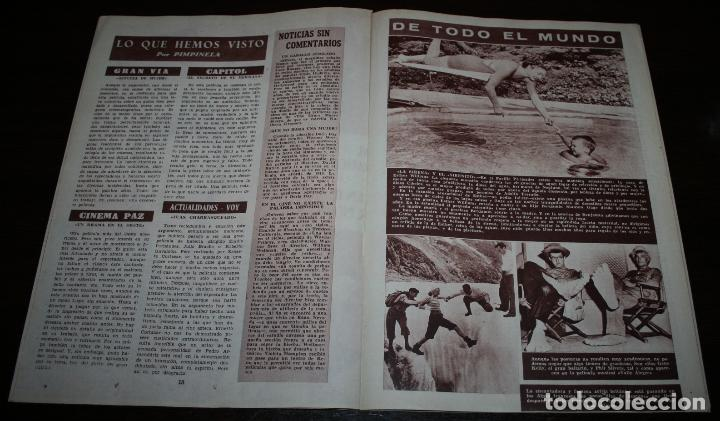 Cine: RADIOCINEMA Nº 214 - 28/08/1954 - EN PORTADA/CONTRAPORTADA: JORGE MISTRAL/DORIS DAY - Foto 3 - 99899151