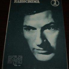 Cinéma: RADIOCINEMA Nº 310 - 30/06/1956 - EN PORTADA/CONTRAPORTADA: ALEJANDRO VEGA/INGRID BERGMAN. Lote 99899383