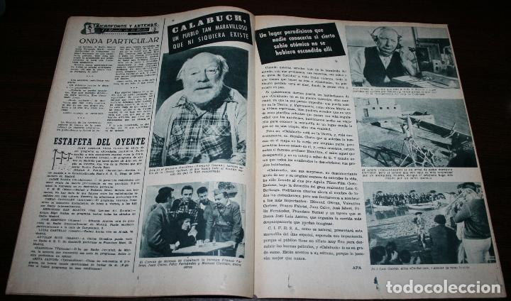 Cine: RADIOCINEMA Nº 306 - 2/06/1956 - EN PORTADA/CONTRAPORTADA: TERRY MOORE/VITTORIO DE SICA - Foto 2 - 99906583