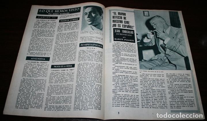 Cine: RADIOCINEMA Nº 303 - 12/05/1956 - EN PORTADA/CONTRAPORTADA: MARIA DOLORES/MANON - Foto 2 - 99907619