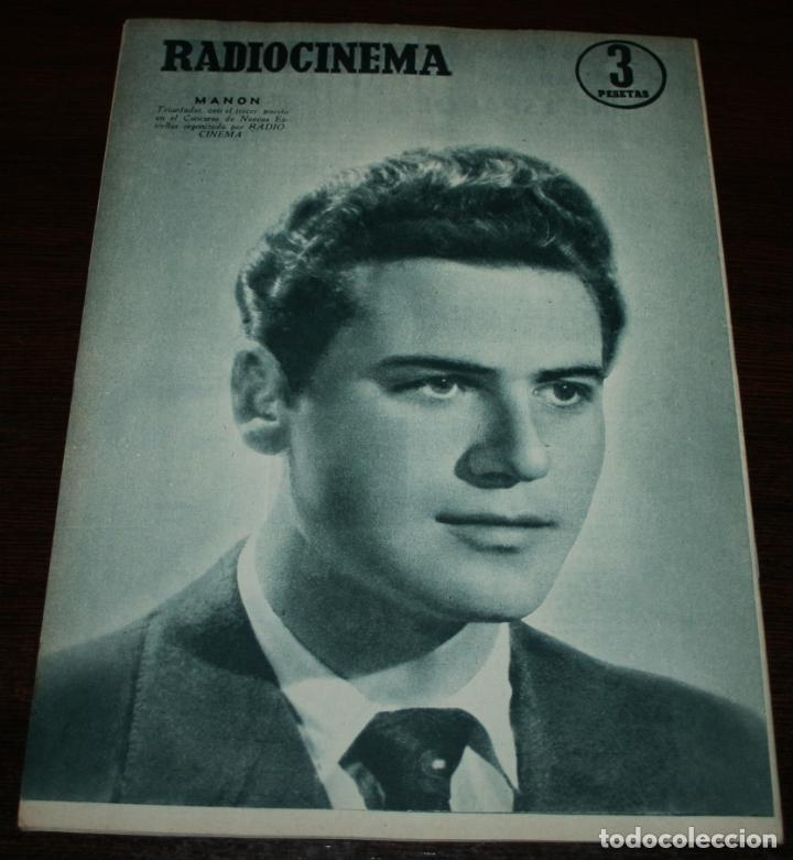 Cine: RADIOCINEMA Nº 303 - 12/05/1956 - EN PORTADA/CONTRAPORTADA: MARIA DOLORES/MANON - Foto 3 - 99907619
