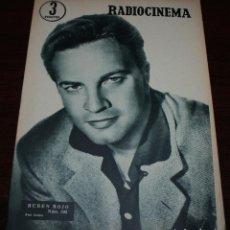Cine: RADIOCINEMA Nº 302 - 5/05/1956 - EN PORTADA/CONTRAPORTADA: RUBEN ROJO/PIPER LAURIE. Lote 99907671