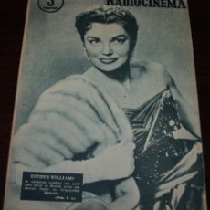 Cine: RADIOCINEMA Nº 320 - 8/09/1956 - EN PORTADA/CONTRAPORTADA: ESTHER WILLIAMS/WILLIAM CAMPBELL. Lote 99907799