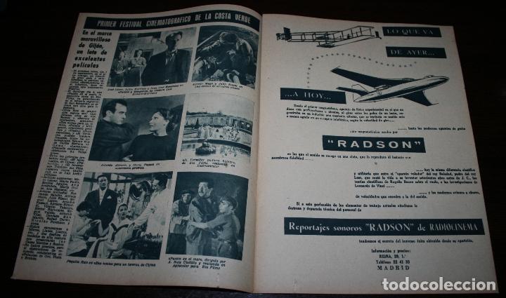 Cine: RADIOCINEMA Nº 319 - 1/09/1956 - EN PORTADA/CONTRAPORTADA: JEANNE MOUREAU/GARY COOPER - Foto 2 - 99907895